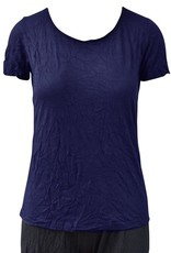 Comfy Short Sleeve Scoop Tee