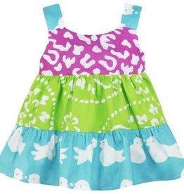 Global Mamas Gypsy Two Bird Baby Dress Organic Cotton
