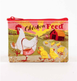 Blue Q Chicken Feed Coin Purse