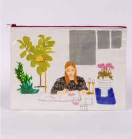 Blue Q The Painter Jumbo Pouch