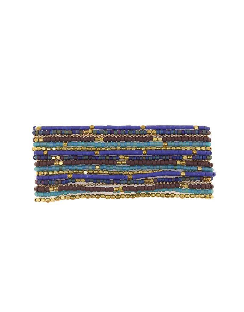marquet Lauren 3:1 Wrap Bracelet Celestial Blue