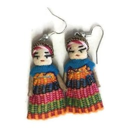 Lumily Worry Doll Earrings