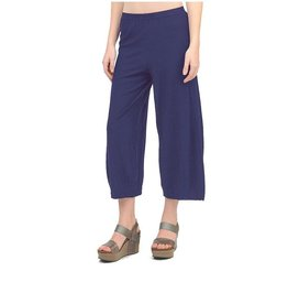Cut Loose Cut Loose, Cropped Dart Cotton Linen Knit Pant