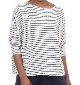Cut Loose One Size Stripe Pocket Pullover