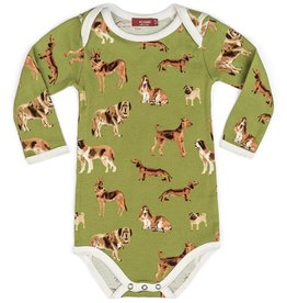 Milkbarn Organic Long-Sleeve One Piece