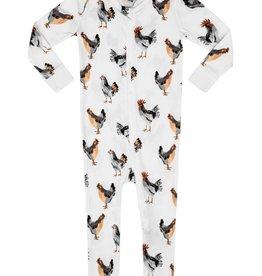 Milkbarn Organic Zipper Pajama