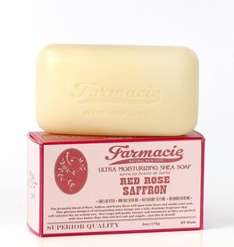 Soap & Paper Factory Farmacie Red Rose Saffron Bar Soap