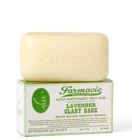 Soap & Paper Factory Farmacie Lavender Clary Sage Bar Soap