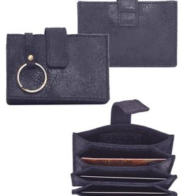 Latico Leathers Noelle Wallet - Black