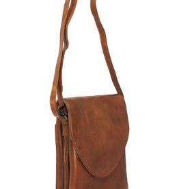 Latico Leathers Pippa Crossbody Cognac