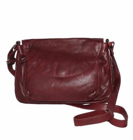 Latico Leathers Marina Shoulder Bag Oxblood