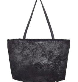 Latico Leathers Margie Leather Tote - Black