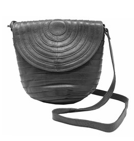 Latico Leathers Jesse Leather Basketweave Bag
