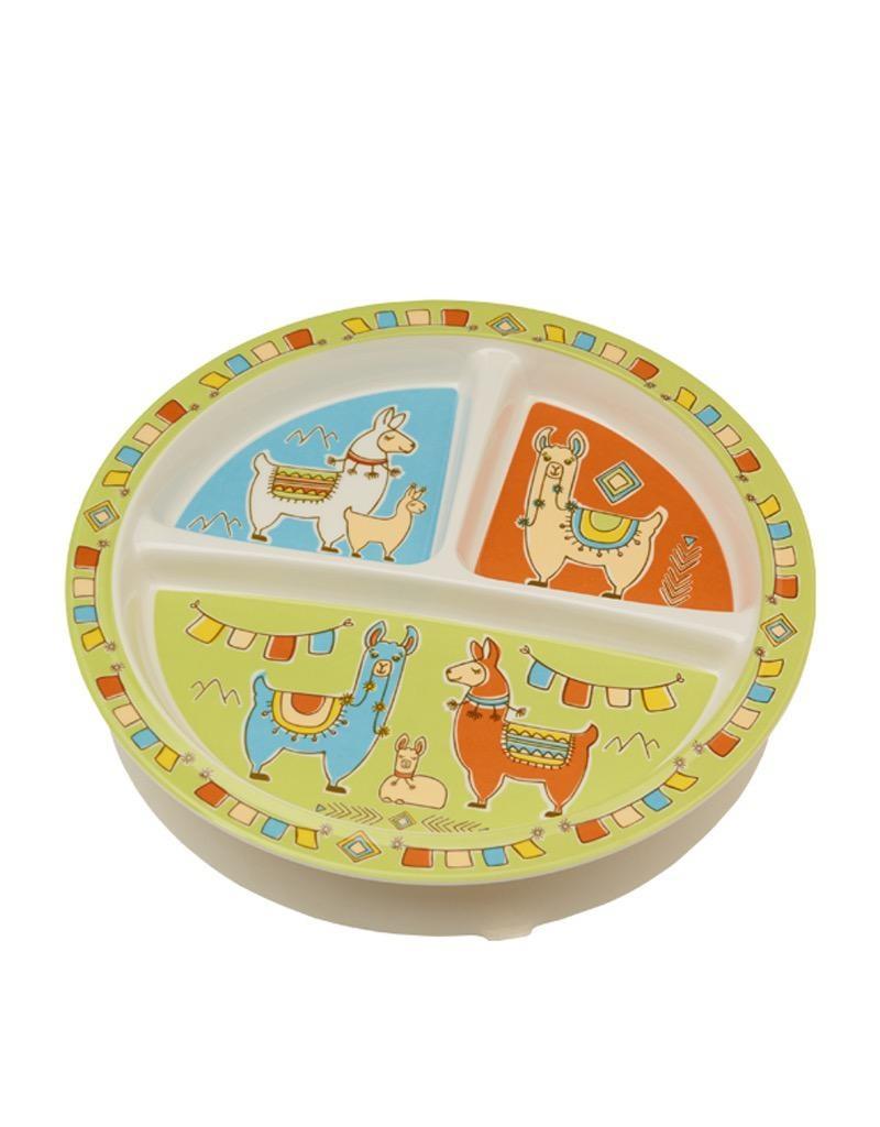 Ore Divided Suction Plate Mama Llama