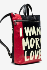 "Desigual ""I Want More Love"" Backpack"