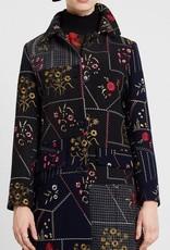 Desigual Floral Patch Coat