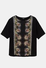 Desigual Floral Band T-Shirt Designed by M. Christian Lacroix