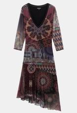 Desigual Boho Multilayered Dress