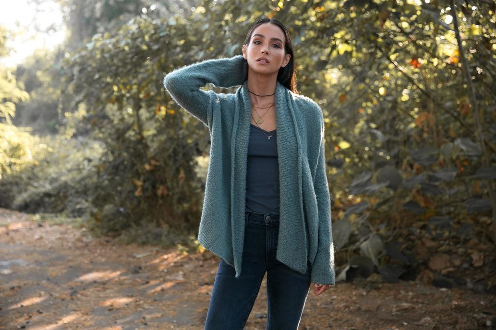Wooden Ships Cozy Wrap Sweater