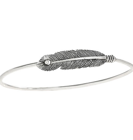 Tiger Mountain Feather Clasp Bracelet