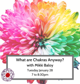 Maria Luisa What Are Chakras Anyway? w Mikki Baloy Jan 28 7pm