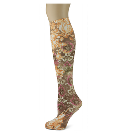 Sox Trot Baroque Bouquet Adult Knee Highs