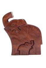 Matr Boomie Mama Elephant Puzzle Box