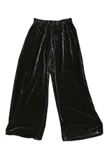 Cut Loose Long Wide Velvet Pant