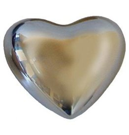Tesoros Small Nickel Heart with Bell