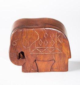 Matr Boomie Elephant Puzzle Box