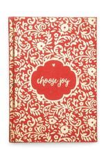 Matr Boomie Choose Joy Metallic Message Journal