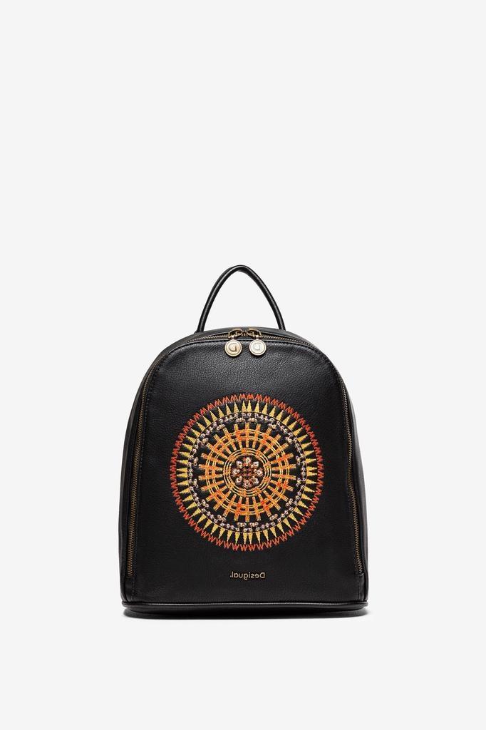 Desigual Embroidered Mandala Backpack