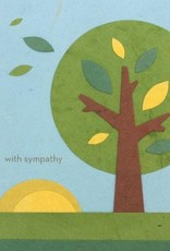 Good Paper Sympathy Tree Card