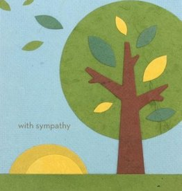 Good Paper Sympathy Tree Card
