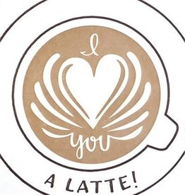 Good Paper Latte Love Card