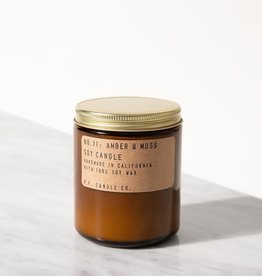 P.F. Candle Co. Amber & Moss Soy Candle - 7.2 oz