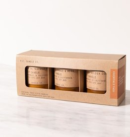 P.F. Candle Co. Mini Soy Candle Gift Set - 3.5 oz