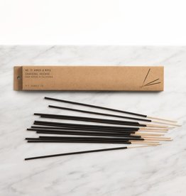 P.F. Candle Co. Amber & Moss Incense - Pack of 15