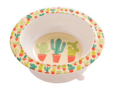 Ore Suction Bowl - Happy Cactus