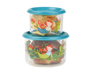Ore Small Snack Containers Small (Set of Two) - Isla Mermaid