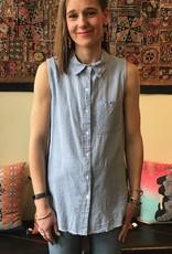 Dylan Linen Sleeveless Shirt