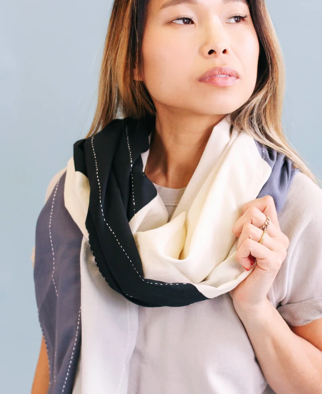 Anchal Project Naari Colorblock Scarf