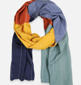 Anchal Project Rainbow Colorblock Scarf