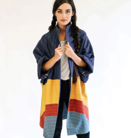 Anchal Project Rainbow Eclipse Cocoon Jacket
