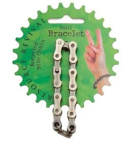 Resource Revival Bike Chain Bracelet