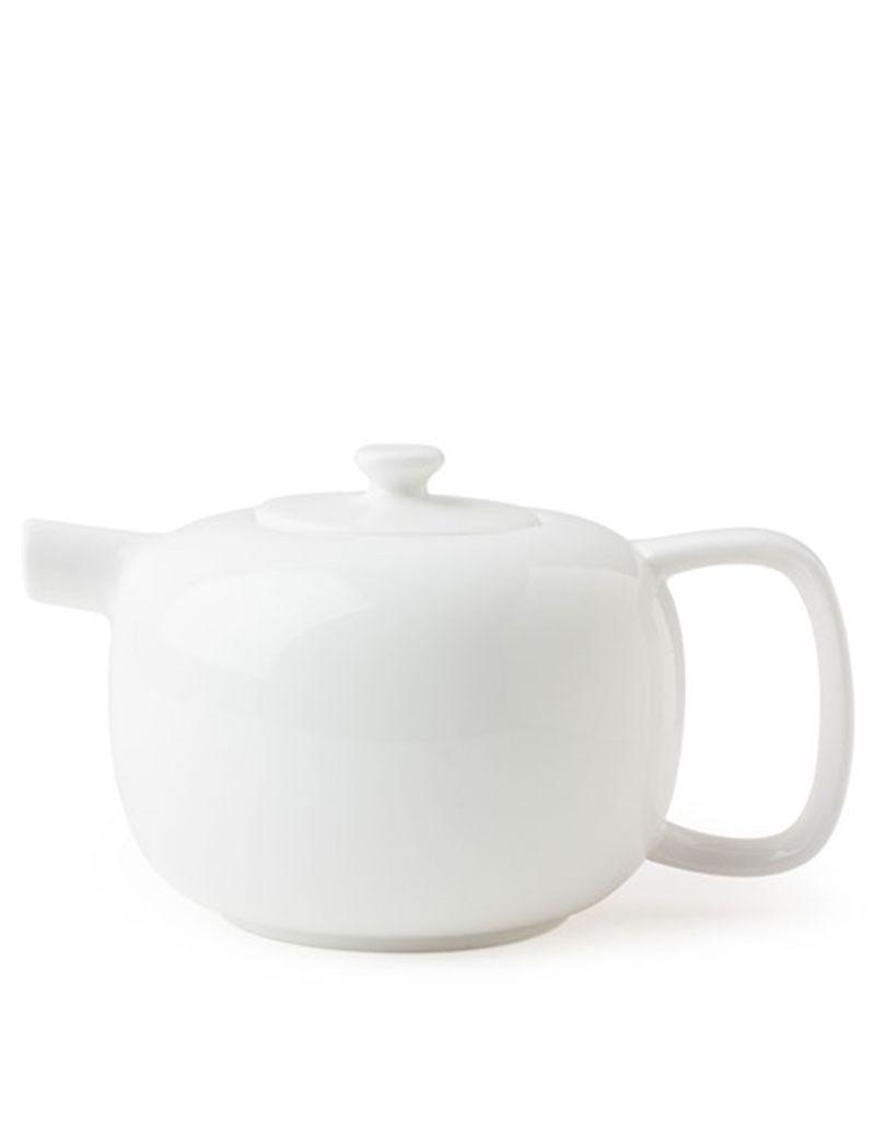 Miya Company 21oz White Teapot