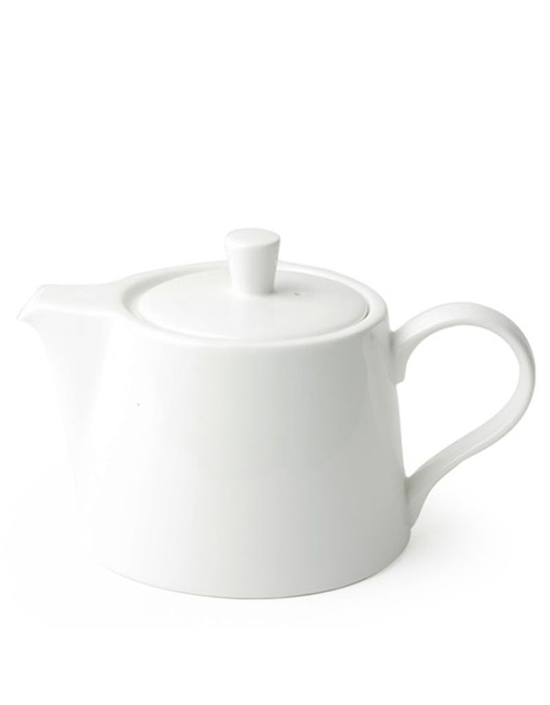 """Miya Company Teapot 14oz. White, 7.25"""""""
