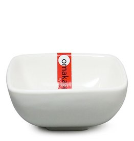 """Miya Company White Sauce Dish 3"""" 2oz"""