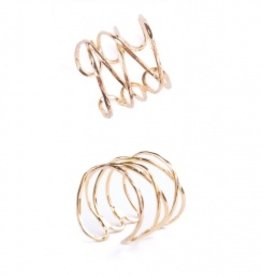 Mata Traders Wind and Water Ring - Gold
