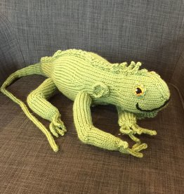 Margarete Vicinus Hand Knit Iguana
